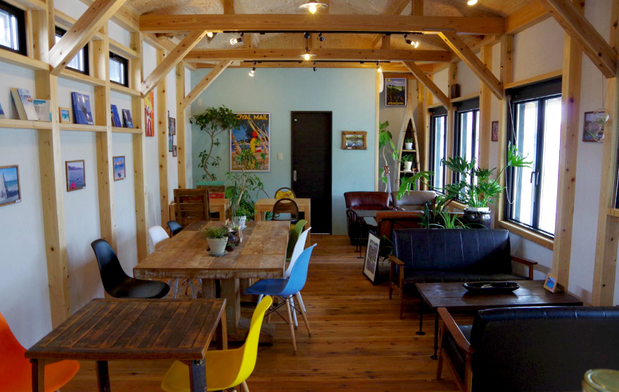和歌山 湯浅のアウトドアカフェ「The 7th Sense Cafe」
